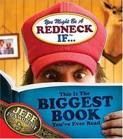 Cover of: You might be a redneck if-- this is the biggest book you've ever read