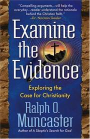 Cover of: Examine the evidence