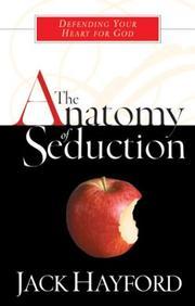 Cover of: The anatomy of seduction