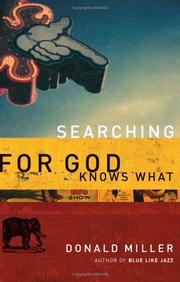 Cover of: Searching for God knows what