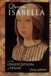 Cover of: Queen Isabella and the unification of Spain