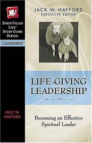 Cover of: Life-giving leadership