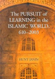 Cover of: The pursuit of learning in the Islamic world, 610-2003