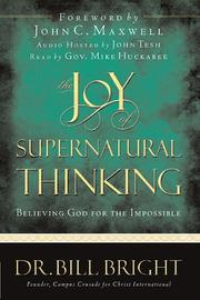 Cover of: The joy of supernatural thinking