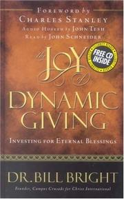 Cover of: The joy of dynamic giving