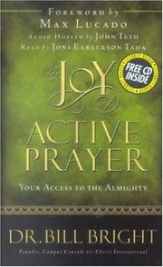 Cover of: The joy of active prayer