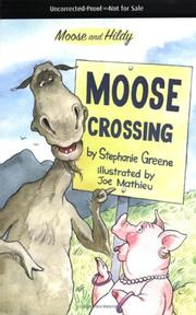 Cover of: Moose crossing