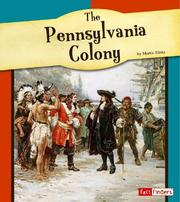 Cover of: The Pennsylvania colony