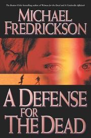 Cover of: A defense for the dead