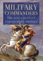 Cover of: Military commanders