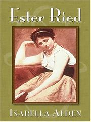 Cover of: Ester Ried