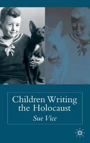 Cover of: Children writing the Holocaust