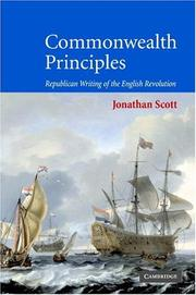 Cover of: Commonwealth principles