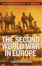 Cover of: The Second World War in Europe