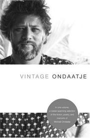 Cover of: Vintage Ondaatje