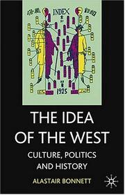 Cover of: The idea of the West