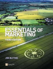 Cover of: Essentials of marketing