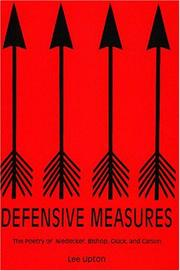Cover of: Defensive measures: the poetry of Niedecker, Bishop, Glück, and Carson
