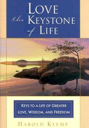 Cover of: Love--the keystone of life