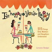 Cover of: I'm happy if you're happy