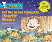 Cover of: It's the Great Pumpkin, Charlie Brown