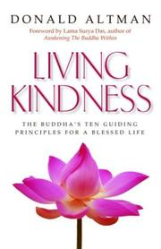 Cover of: Living kindness
