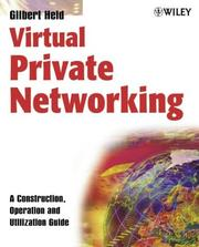 Cover of: Virtual private networking