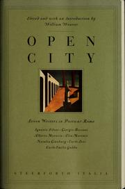 Cover of: Open city: seven writers in postwar Rome