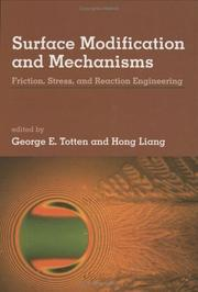 Cover of: Surface modification and mechanisms