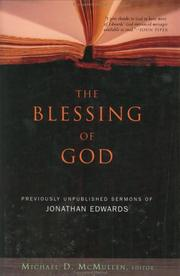 Cover of: The blessing of God