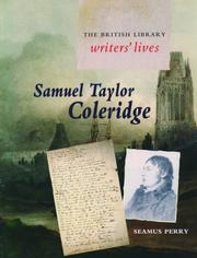 Cover of: Samuel Taylor Coleridge