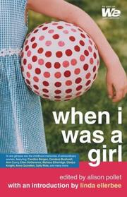 Cover of: When I was a girl