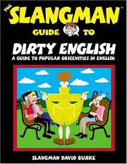 Cover of: The Slangman guide to dirty English