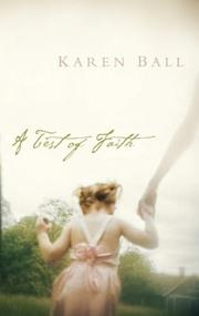 Cover of: A test of faith