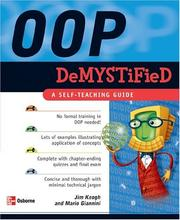 Cover of: OOP demystified