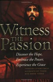 Cover of: Witness the Passion