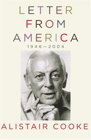 Cover of: Letter from America, 1946-2004