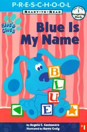 Cover of: Blue is my name