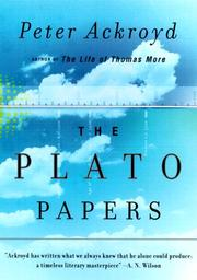 Cover of: The Plato Papers