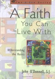 Cover of: A faith you can live with