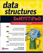 Cover of: Data structures demystified