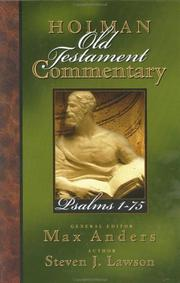 Cover of: Psalms 1-75