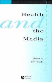 Cover of: Health and the media