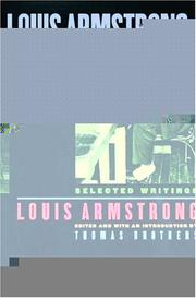 Cover of: Louis Armstrong, In His Own Words