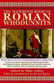 Cover of: The Mammoth book of Roman whodunnits