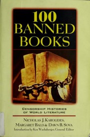 Cover of: 100 banned books