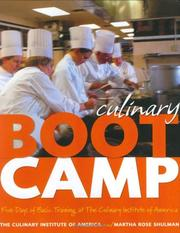 Cover of: Culinary boot camp