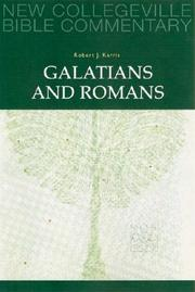 Cover of: Galatians and Romans