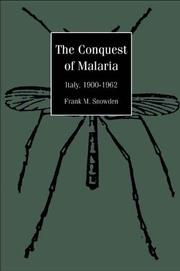 Cover of: The conquest of malaria