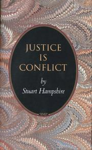 Cover of: Justice is conflict
